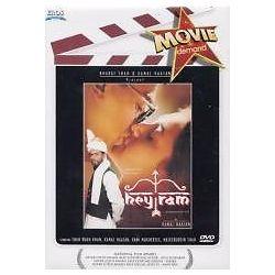 Hey RAM Kamal Hassan Shahrukh Khan Bollywood Hindi DVD