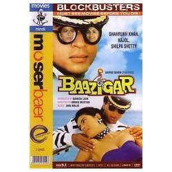 Baazigar Shahrukh Khan Kajol Shilpa Shetty Bollywood DVD