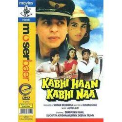 Kabhi Haan Kabhi NAA Shahrukh Khan Suchitra Bollywood DVD