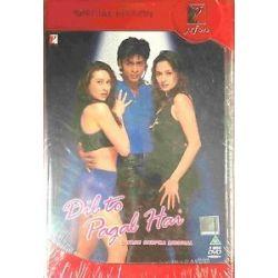 DIL to Pagal Hai Shahrukh Bollywood Hindi Movie DVD