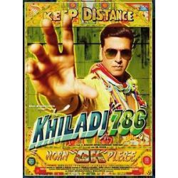 Khiladi 786 Akshay Kumar Asin Bollywood Hindi DVD