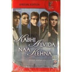 Kabhi Alvida NAA Kehna Shahrukh Bollywood Hindi DVD