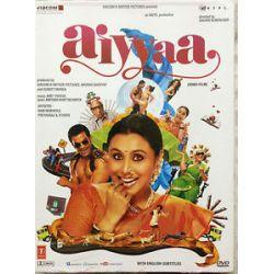 Aiyyaa Rani Mukherjee Prithviraj Sukumaran Bollywood Hindi DVD