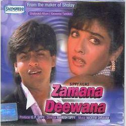 Zamana Deewana Shahrukh Raveena Bollywood Hindi DVD