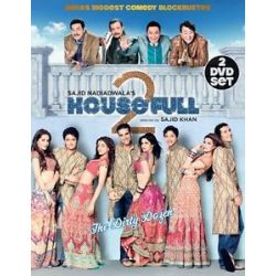 Housefull 2 Akshay Kumar John Abraham Asin Bollywood 2 Disc DVD