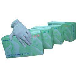 Rękawice zabiegowe SEMPERMED - lateksowe, pudrowane