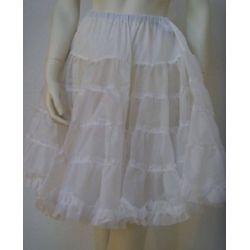 Petticoat Unterrock aus Tüll in weiss