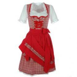 Dirndl Nina in Rot von Krüger Dirndl