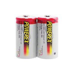 Powerex NiMH Rechargeable C Batteries (1.2V, 5000mAh) - MH-2C500