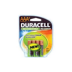 Duracell AAA NiMH Pre-Charged Rechargeable Batteries - DX2400R4