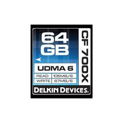 Delkin Devices 64GB CompactFlash Memory Card 700x DDCF700-64GB