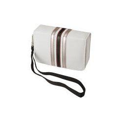 Pentax Fashion Wrist Case (White with Black Stripes) 85217 B&H