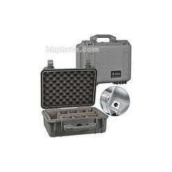 Pelican 1450 Case with Dividers (Silver) 1450-004-180 B&H Photo