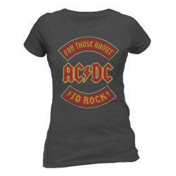 bluzeczka dziewczęca AC/DC -  ABOUT TO ROCK BANNER