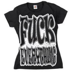 bluzeczka dziewczęca BLACK ICON - FUCK EVERYTHING (DICON115 BLACK)