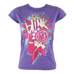 bluzeczka damska BLINK 182 - STATIC