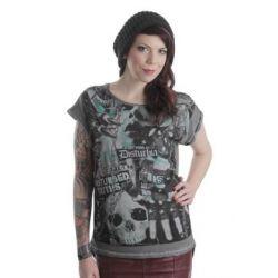 bluzeczka dziewczęca DISTURBIA - DISTURBED YOUTH