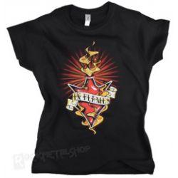bluzeczka damska IN FLAMES - BURNING JESTER