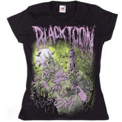 bluzeczka dziewczęca BLACK ICON - HORSERIDER (DICON079 BLACK)