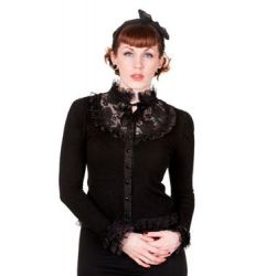 sweter BANNED - BLACK LACE