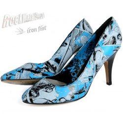 szpilki IRON FIST (Carousel Heel) (ELECTRIC BLUE) '09 OIRON-025