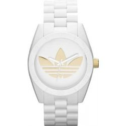 Adidas Adidas ADH2799 Santiago Uhr weiß mit goldenem Logo