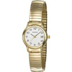 Accurist Damen-Armbanduhr Analog Edelstahl gold LB706