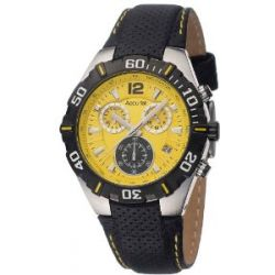 Accurist Herren-Armbanduhr Chronograph MS832Y