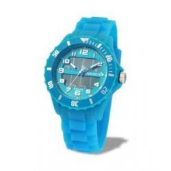 Avalanche Uhr - SOLAR - trendige Unisex Armbanduhr - hellblau / läuft ohne Batterie