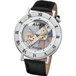 U.Auer Classic Collection BA-512-WBL Herrenarmbanduhr Baguette Uhrwerk