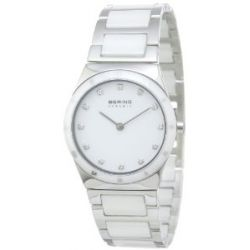 BERING Time Damen-Armbanduhr Slim Ceramic 32230-764