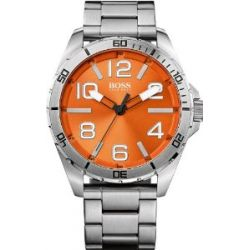 Boss Orange 1512942 Uhr Herrenuhr Edelstahl 30m Analog orange