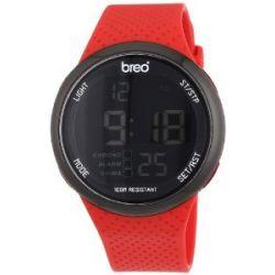 Breo Unisex-Armbanduhr Trak Digital Automatik Silikon B-TI-TRK10