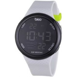 Breo Unisex-Armbanduhr Trak Watch White Digital Alloy B-TI-TRK8