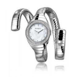 Breil Damen-Armbanduhr XS B Snake Analog Quarz Edelstahl TW1165