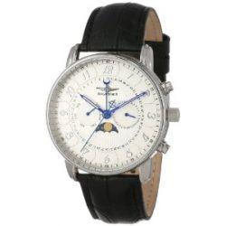 Breytenbach Herren-Armbanduhr Swiss Ronda Mondphase Analog Quarz 77101