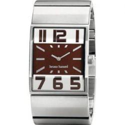 Bruno Banani Herren-Armbanduhr XL Brix Gents Analog Edelstahl BR21004