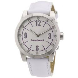 Bruno Banani Damen-Armbanduhr TARAS LADIES Analog Quarz Leder BR21115