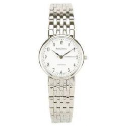 Bruno Söhnle Nabucco 2 Damen Uhr Silber Weiß 17-13128-922