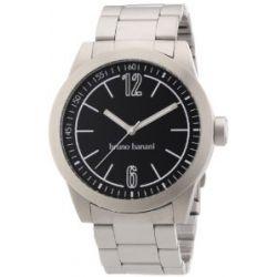 Bruno Banani Herren-Armbanduhr XL TARAS GENTS Analog Quarz Edelstahl BR21113