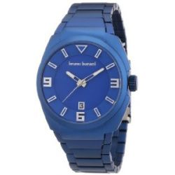 Bruno Banani Herren-Armbanduhr XL PUYA Analog Quarz Aluminium BR21121