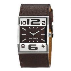 Bruno Banani Herren Uhr silber-braun Brix Uhren Kollektion UBR21000