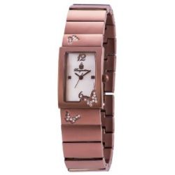 Burgmeister Damen-Armbanduhr Analog Quarz verschiedene Materialien BM527-485