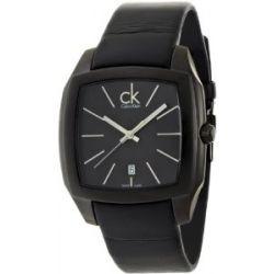Calvin Klein Herren-Armbanduhr Recess Analog Leder K2K21402
