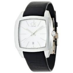 Calvin Klein Herren-Armbanduhr Recess Analog Leder K2K21120