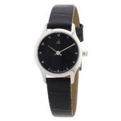 Calvin Klein Damen-Armbanduhr XS Classic Analog Leder K2623111