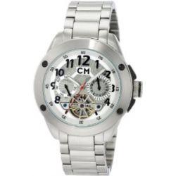 Carlo Monti Herren-Armbanduhr Stahl/weiß CM102-181