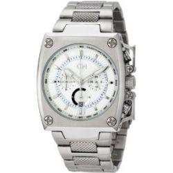 Carlo Monti Herren-Armbanduhr Stahl/weiß CM101-181