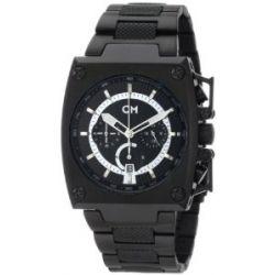 Carlo Monti Herren-Armbanduhr Black/schwarz CM101-622 IP