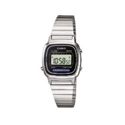 Casio Unisex-Armbanduhr Casio Collection Digital Quarz Edelstahl LA-670WEA-1EF